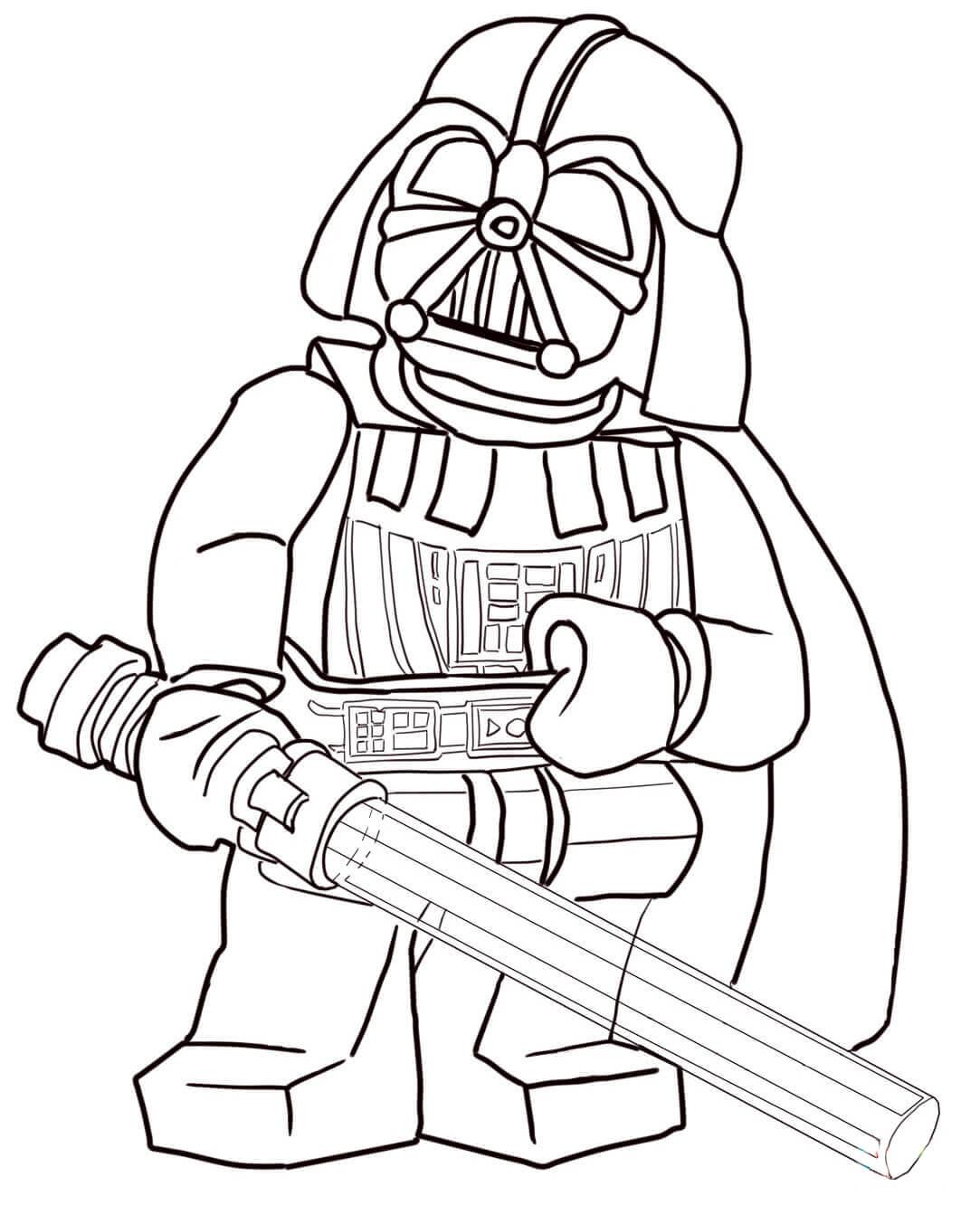 Раскраска Lego Марвел