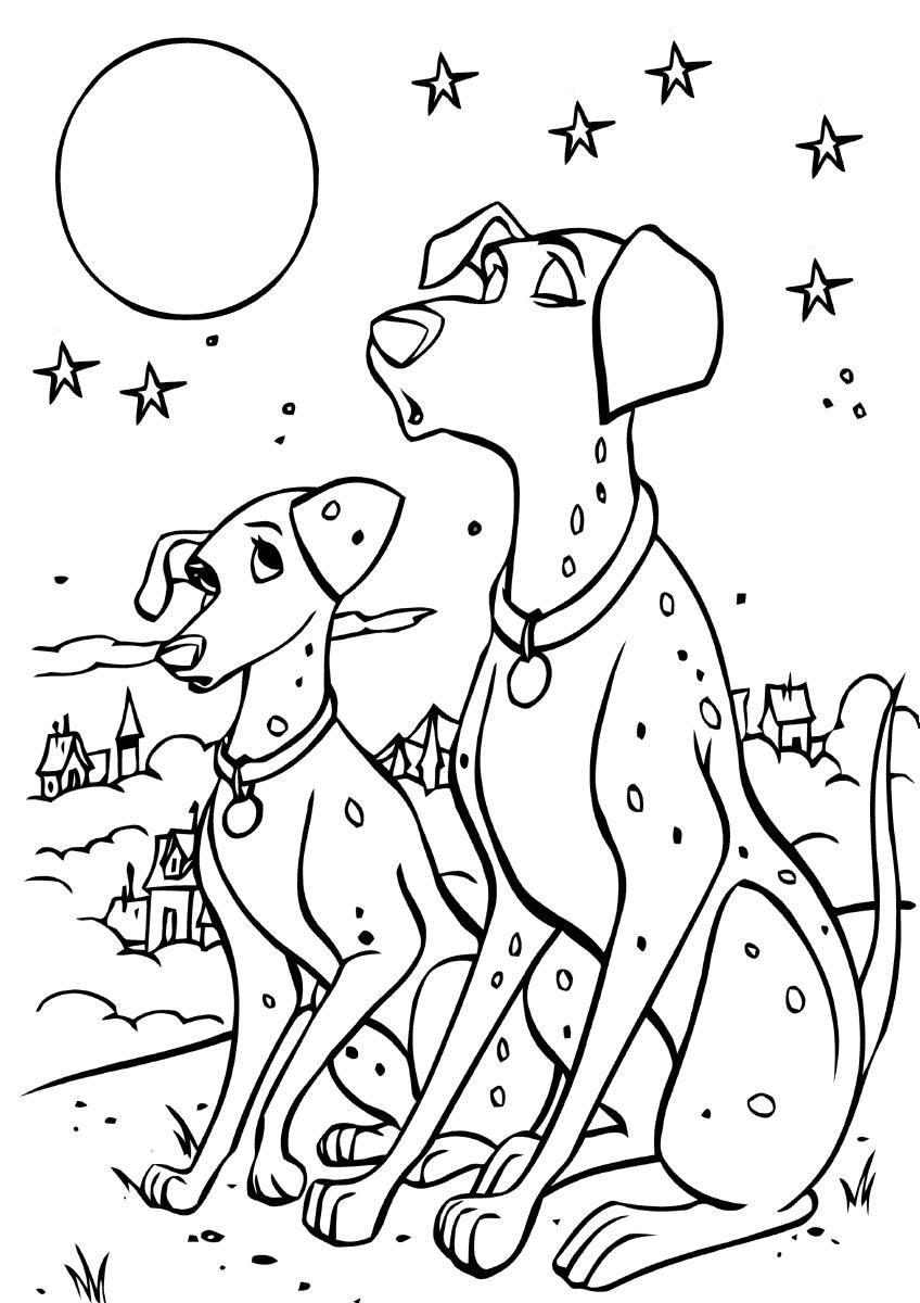 Раскраска Пэдди и Понго