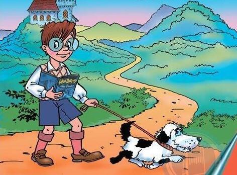 Гарри и его собака Поттер