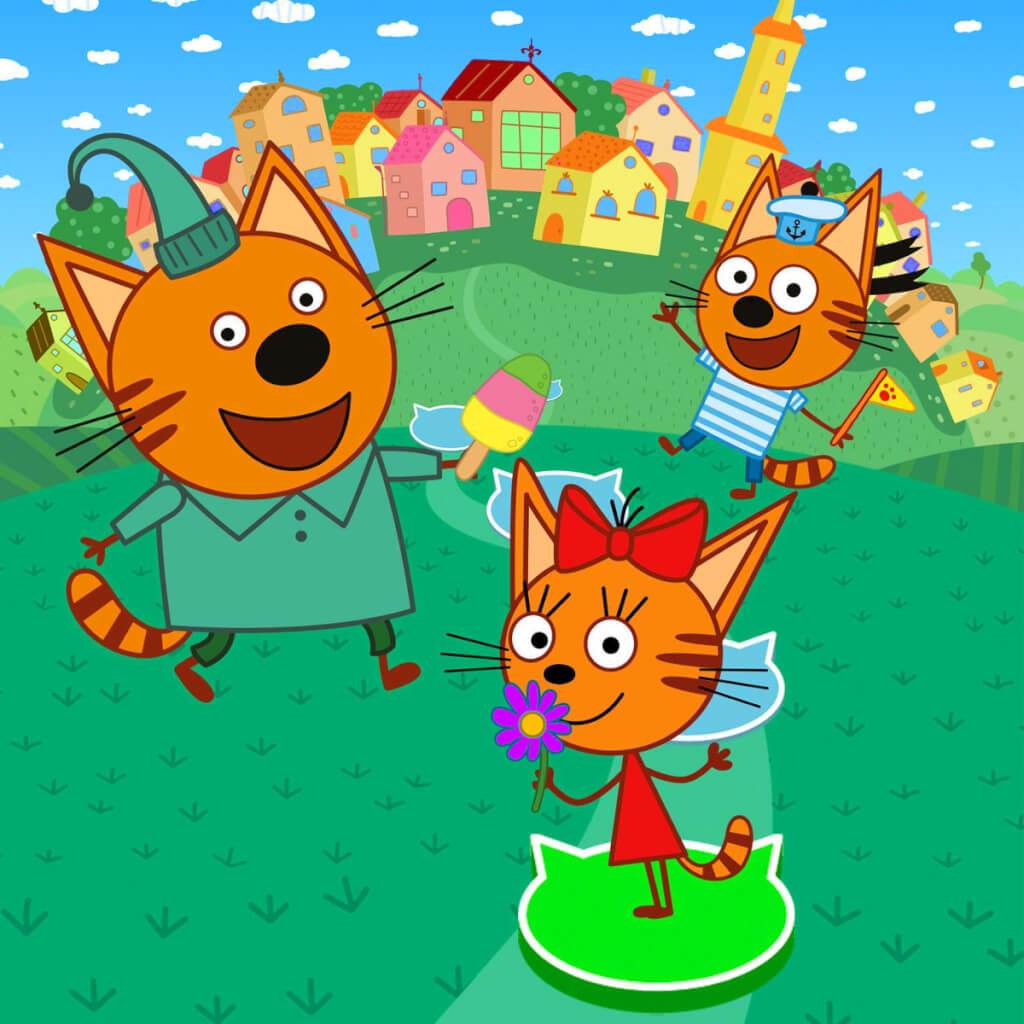 Мультфильм Три кота